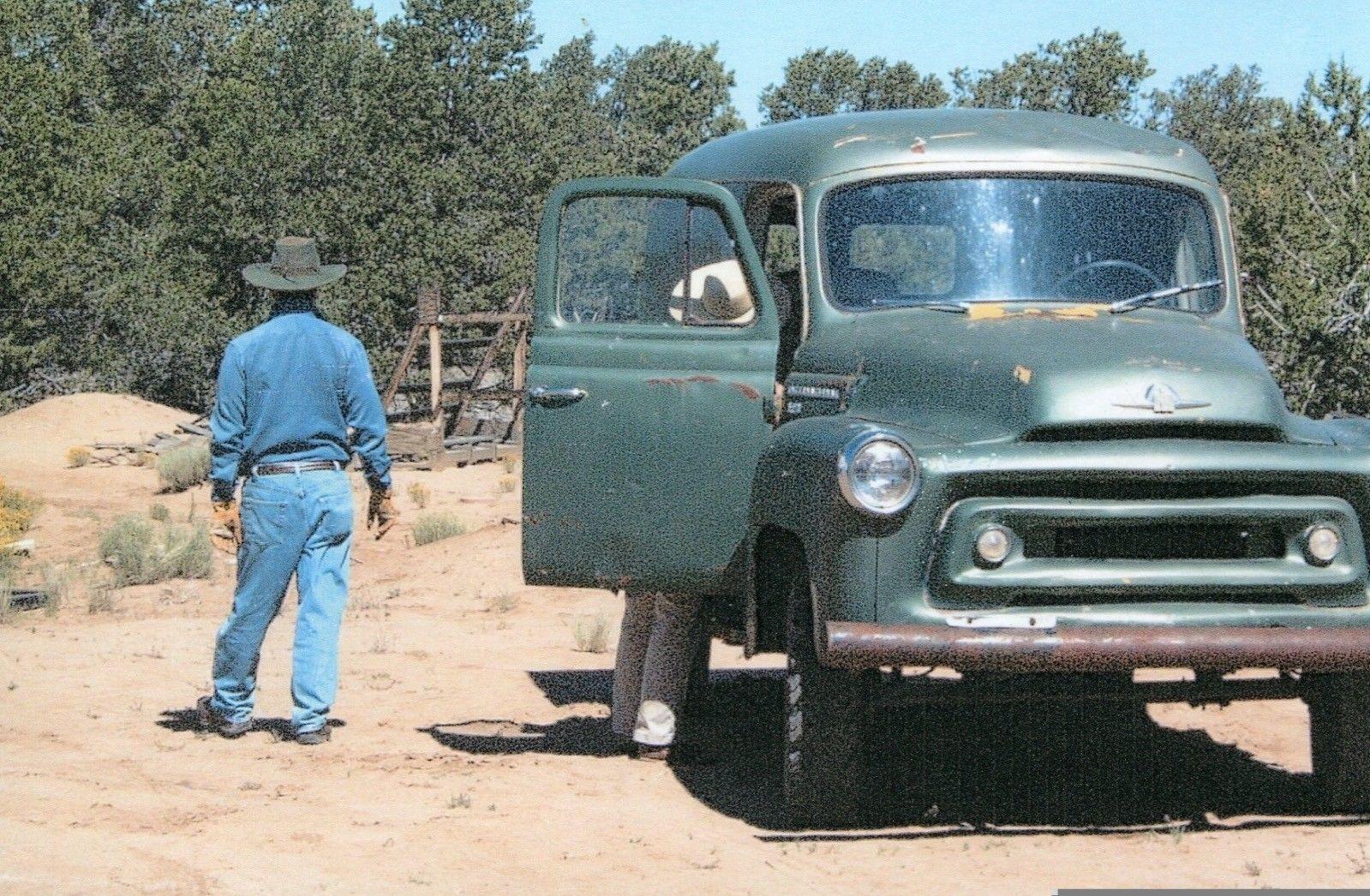 1956 International Harvester 4×4 S-120 Panel Van for sale