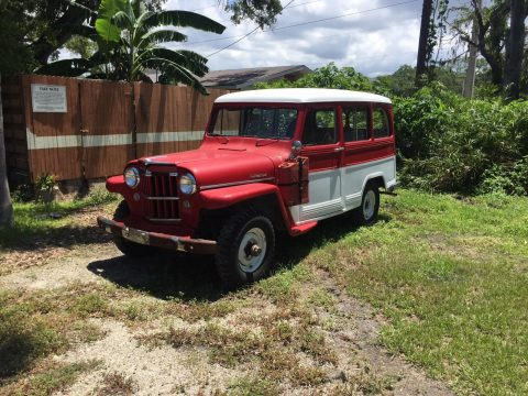a true collectible 1954 Willys Wagon for sale