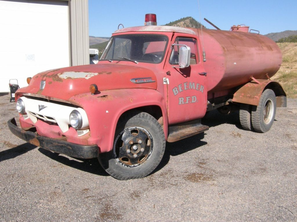 1954 Ford F600 Fire Truck For Sale Cars
