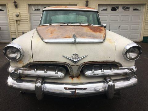 Vintage barn find 1955 Dodge Custom Royal Super Red Ram Hemi for sale