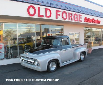 1956 Ford F 100 Custom Pickup Truck Modified hot rod for sale