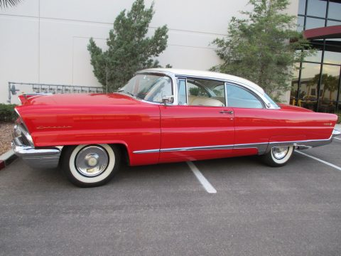 1956 Lincoln Premiere 2 door for sale