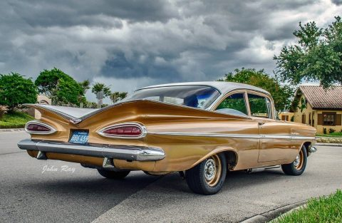 Great 1959 Chevrolet Impala Bel Air for sale