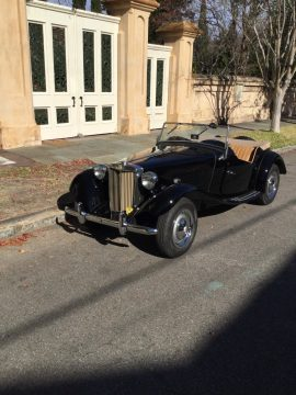 One of First 1950 MG T Series Leather for sale