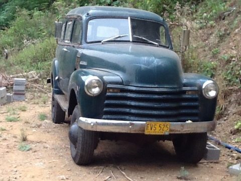 1952 Chevrolet Suburban – one of a kind for sale