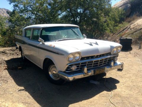 1959 Rambler Custom – no rust for sale