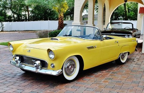 1955 Ford Thunderbird Convertible – Exceptional Condition for sale