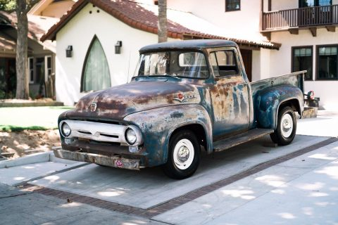 1956 Ford F 100 – RUNS STRONG for sale