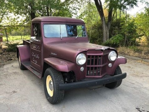 1953 Jeep Willys – excellent running condition for sale
