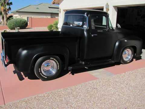 1956 Ford F 100 big window custom cab for sale